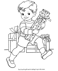 393 coloring christmas pages images coloring