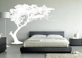Beautiful Wall Stickers For Room Interior Design Bedroom Cool Wall Designs For Bedrooms Using Grey Wallpaper With