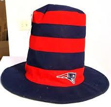 mardi gras hat new patriots nfl stripes top hat party mardi gras hat in