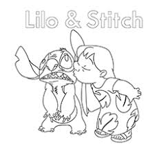 10 cute u0027lilo stitch u0027 coloring pages toddlers