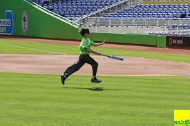 Baseball For The Blind Miami Lighthouse For The Blind Marlins Park Photography By