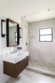 Open Shower Bathroom Awesome Photos Of Interesting Interior Small Bathroom With Open