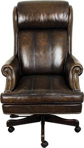 Black Leather Office Chair Parker Living Prestige Black And Brown Leather Desk Chair With