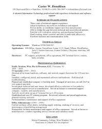 Sle Resume For Service Desk Cover Letter It Help Desk Resume Sles Free Help Desk Resume
