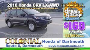 colonial honda dream garage sale event youtube