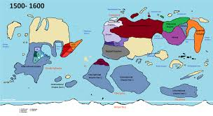 World Map Cartoon by Nationstates Dispatch Map Of The World Through The Ages