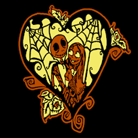 jack and sally 01 stoneykins pumpkin carving patterns and
