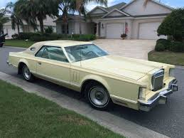 Old Lincoln Town Car 1979 Lincoln Continental For Sale On Classiccars Com 19 Available