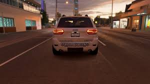 police jeep grand cherokee parker u0027s paint studio paint booth forza motorsport forums