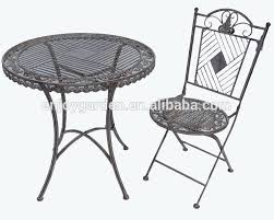 Wrought Iron Commercial Bistro Chair Wrought Iron Outdoor Furniture Wrought Iron Outdoor Furniture