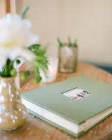 Photo Album Guest Book 68 Guest Books From Real Weddings Martha Stewart Weddings