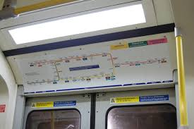 Public Transit Chicago Map by Official Maps In Car Strip Maps For Loop Or Transit Maps