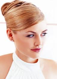 bun with long hair low bun easy updo hairstyles for long hair