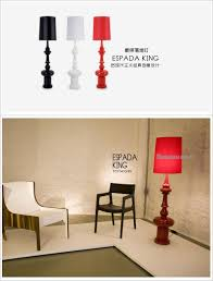 Modern Floor Lamps by New Modern Floor Lamps Espada King Design Red Black White For