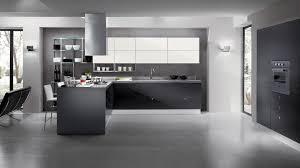 Glass Shelves For Kitchen Cabinets Amazing Futuristic Kitchen Design With Grey Cabinet And Kitchen