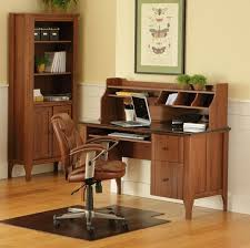 Computer Desks And Hutches Sauder Appleton Outlet Faux Marble Top Computer Desk And Organizer