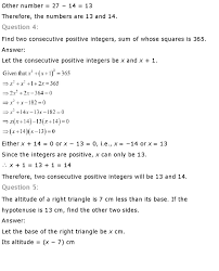 ncert solutions for class 10th maths chapter 4 u2013 quadratic