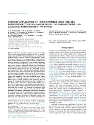 red light therapy for parkinson s the potential of light therapy in pdf download available