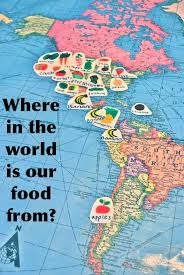 where in the world is your food from food mapping tool kit