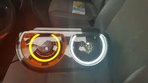 Dodge Challenger Xenon Headlights - dodge challenger retrofit headlights project 2009 2014 youtube