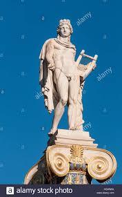 God Statue Classical Apollo God Statue Stock Photo Royalty Free Image