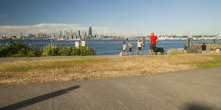 Alki Beach Trail West Seattle by Seacrest Park Outdoor Project