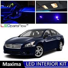 Car Led Interior Lights Amazon Com Ledpartsnow 2009 2014 Nissan Maxima Led Interior