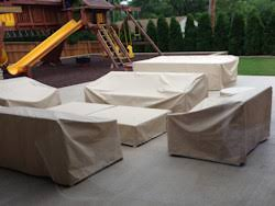 Outdoors Furniture Covers by Custom Patio Furniture Covers Outdoor Sectional Covers