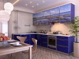 blue modern kitchen cabinets modern blue kitchen cabinets pictures design ideas