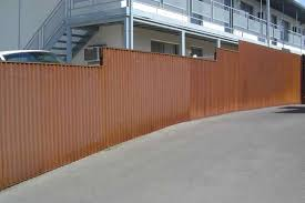 diy metal privacy fence designs fences fence pallet wood and how
