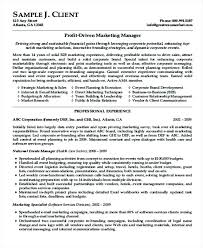 good marketing resume sample sales experience resume format u2013 foodcity me