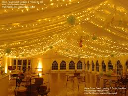 Ceiling Drapes With Fairy Lights Steve Page Lighting Hire Fairylight Hire