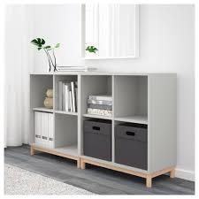 eket storage combination with legs light gray ikea