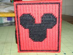 free printable halloween plastic canvas patterns handmade plastic canvas mickey mouse tissue box cover plastic