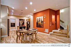 Modern And Contemporary Orange Dining Rooms Home Design Lover - Orange dining room