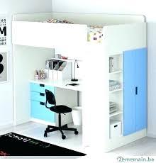 bureau 2 places lit mezzanine ikea avec bureau lit lit mezzanine 2 places avec