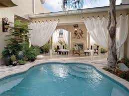 Pool And Patio Decorating Ideas by 25 Spectacular Tropical Pool Landscaping Ideas