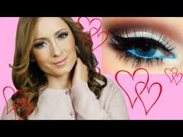 romantic valentines day makeup tutorial Макияж на День Валентина you