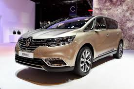 renault minivan f1 new renault espace is different yet the same fresh photos