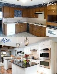 kitchen remodeling ideas before and after fixer upper kitchen makeover home improvement pinterest