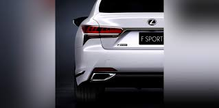 lexus is f sport 2018 lexus ls f sport package to debut in new york