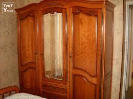 chambre coucher merisier a vendre chambre a coucher en merisier didier 84210