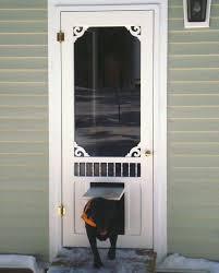 Exterior Pet Door Exterior Door With Pet Door L28 All About Modern Interior Home