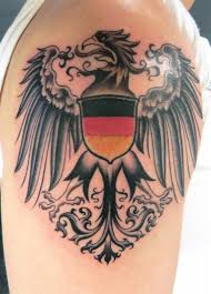 shoulder tattoos designs for men cool traditional upper chest german eagle tattoo designs for guys