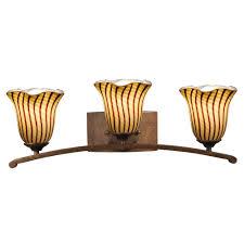 Antique Vanity Lights Sea Gull Lighting Holman 4 Light Bell Metal Bronze Vanity Light