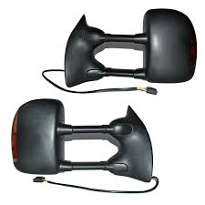 Old Ford Truck Mirrors - amazon com dedc 1999 2007 pair of towing mirrors side view