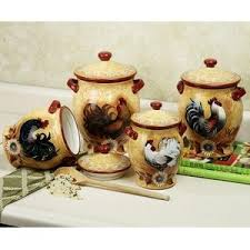 rooster canisters kitchen products 133 best rooster canisters images on rooster decor