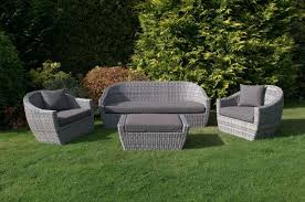 Grey Wicker Patio Furniture by Gray Wicker Outdoor Furniture