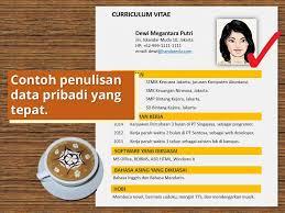 cara membuat novel bahasa inggris membuat curriculum vitae cv resume biodata contoh data