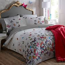 Dragonfly Bedding Queen This Light Grey U0027butterflies U0027 Bedding Set From Butterfly By